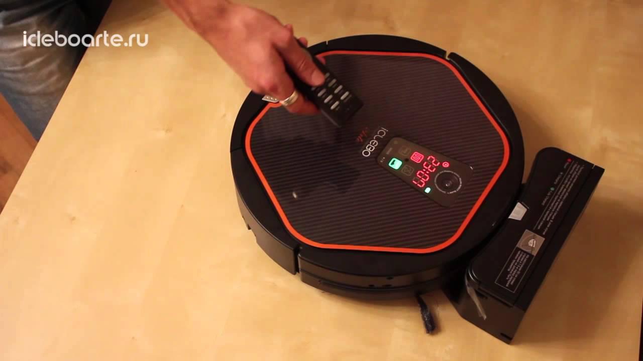 Как запрограммировать робот-пылесос iClebo Arte?