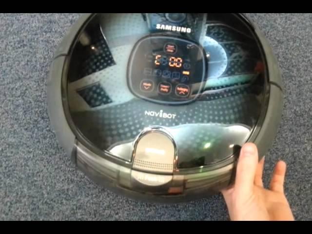 Неработающий робот пылесос Samsung NaviBot SR8855.