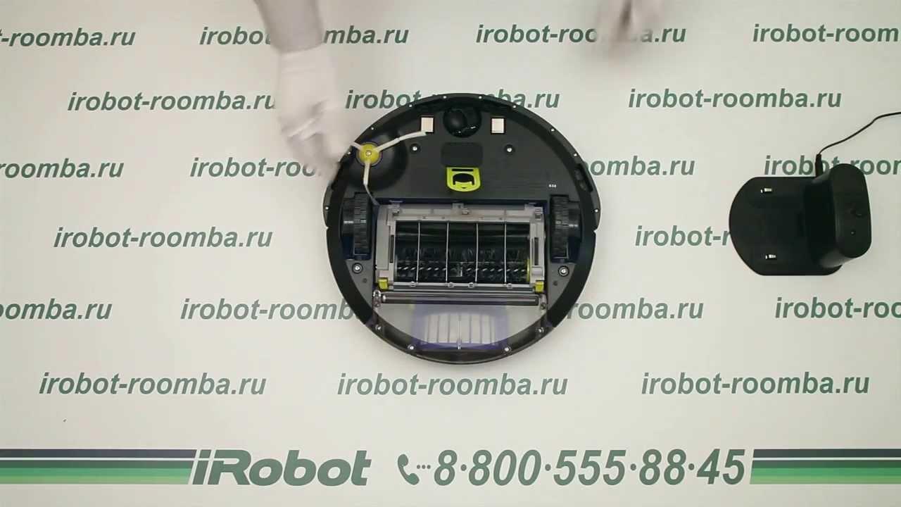 iRobot Roomba 630. Обзор робота-пылесоса Айробот Румба.