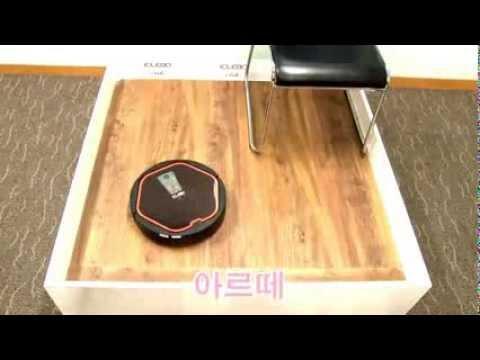 Компания Yujin Robot робот-пылесос iClebo Arte тест сравнение с LG Hom Bot