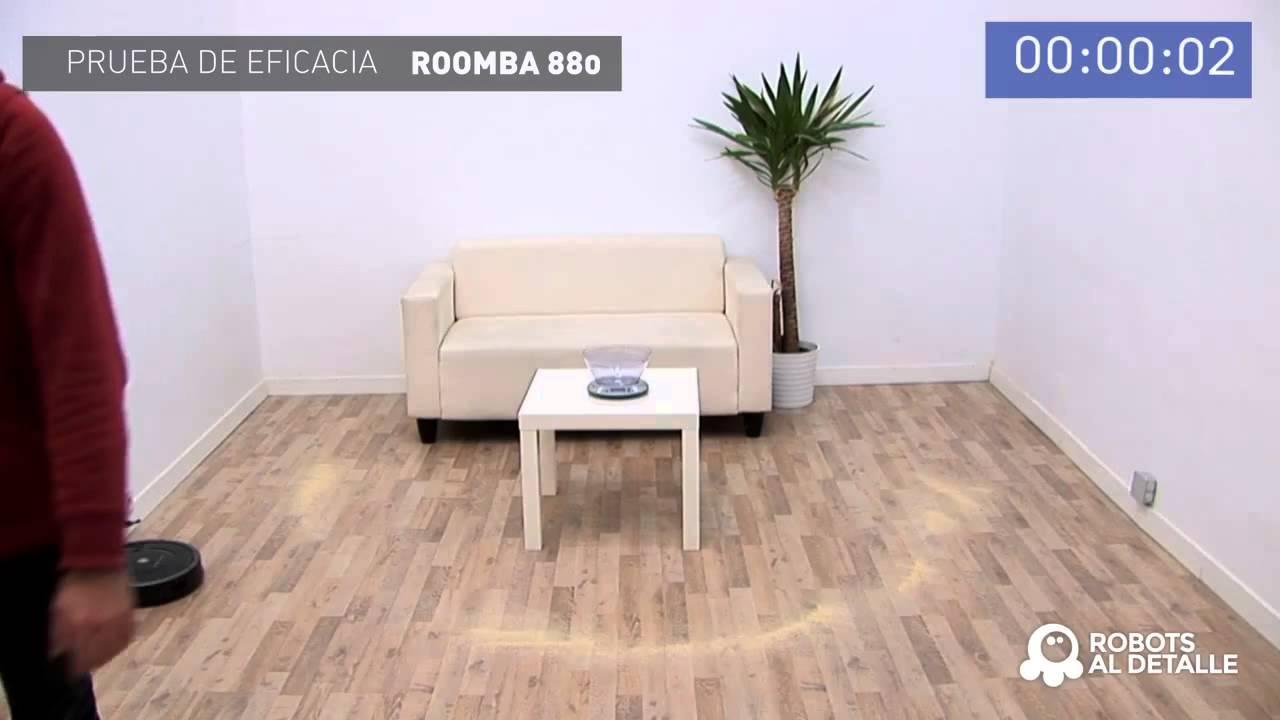 Робот-пылесос iRobot Roomba 880 тест на качество уборки