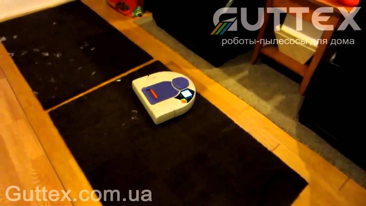 Обзор уборки шерсти роботом пылесосом NEATO XV 21 в интернет магазине Guttex com ua