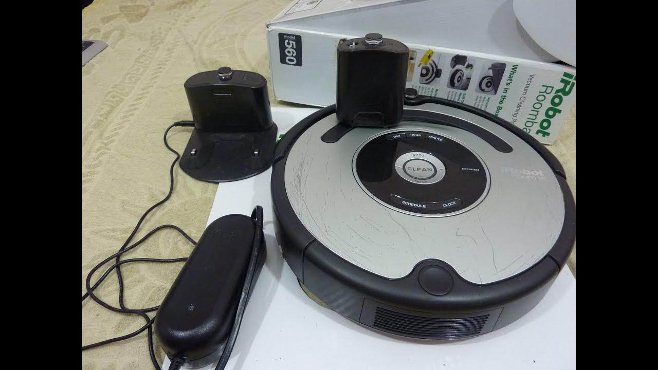Робот Пылесос Roomba 560 от iRobot