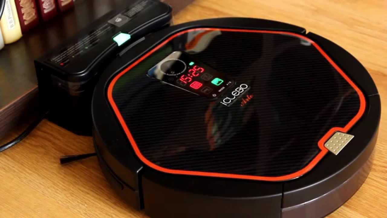 4 Робот пылесос iClebo Arte - Демонстрация уборки