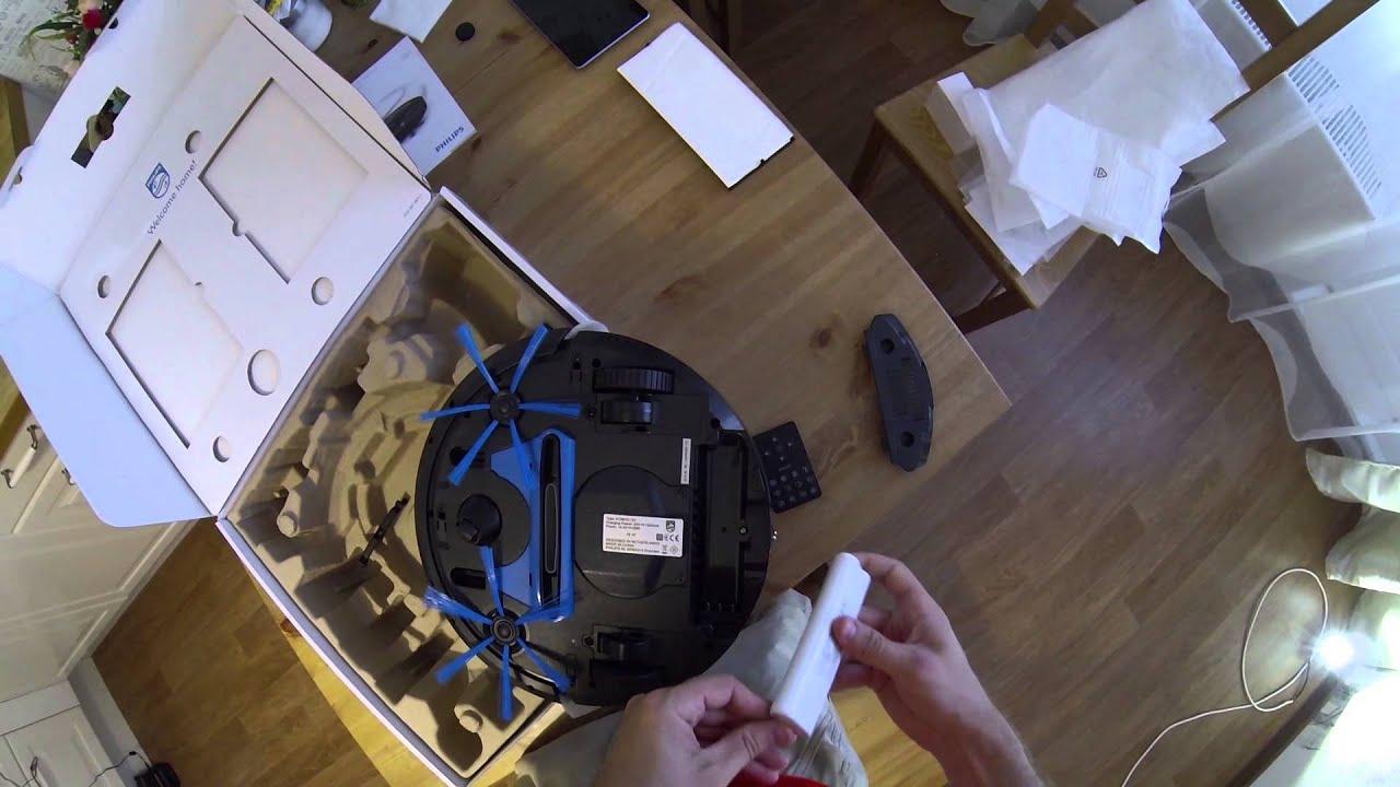 Обзор робота пылесоса Philips SmartPro FC8810