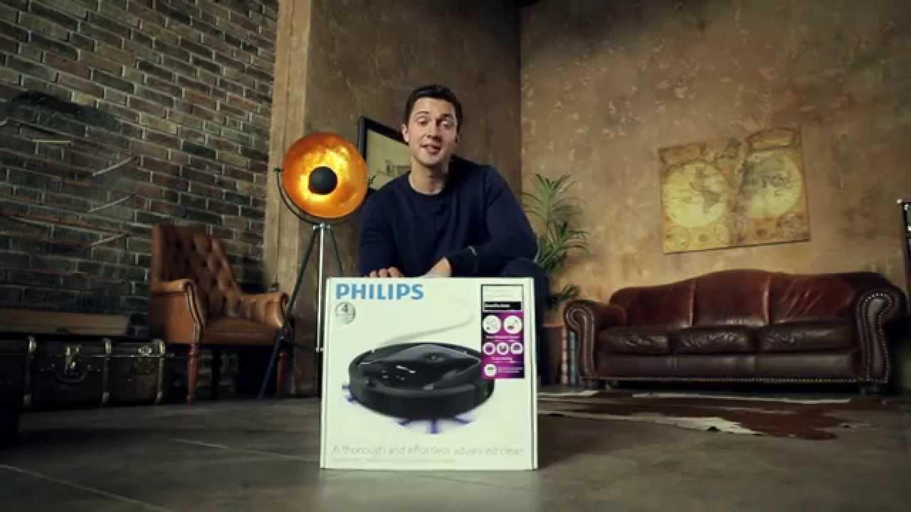Обзор робот-пылесос Philips FC8810