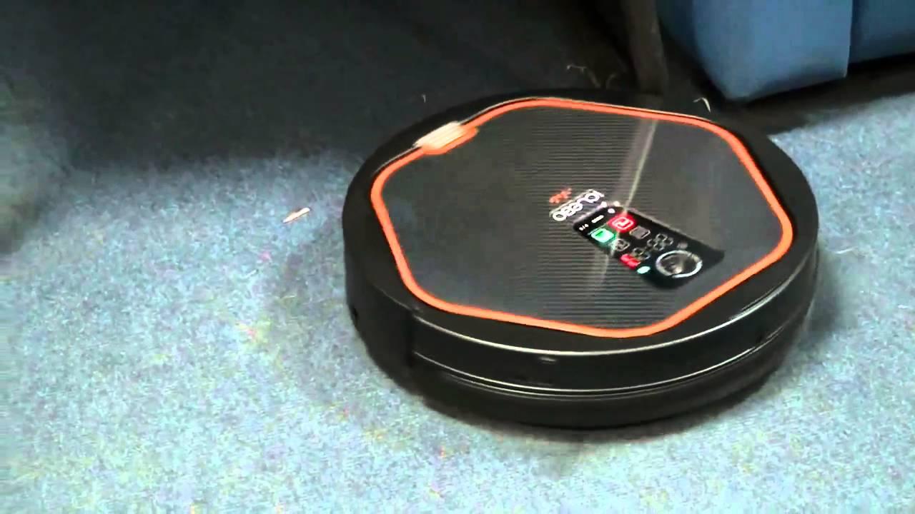 Робот пылесос iClebo Arte YCR M05 за работой