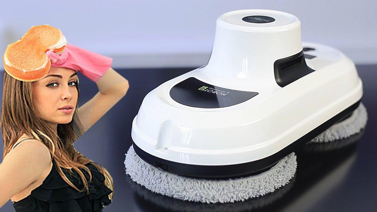 Он вымоет все сам Обзор призового робота-мойщика Hobot 188