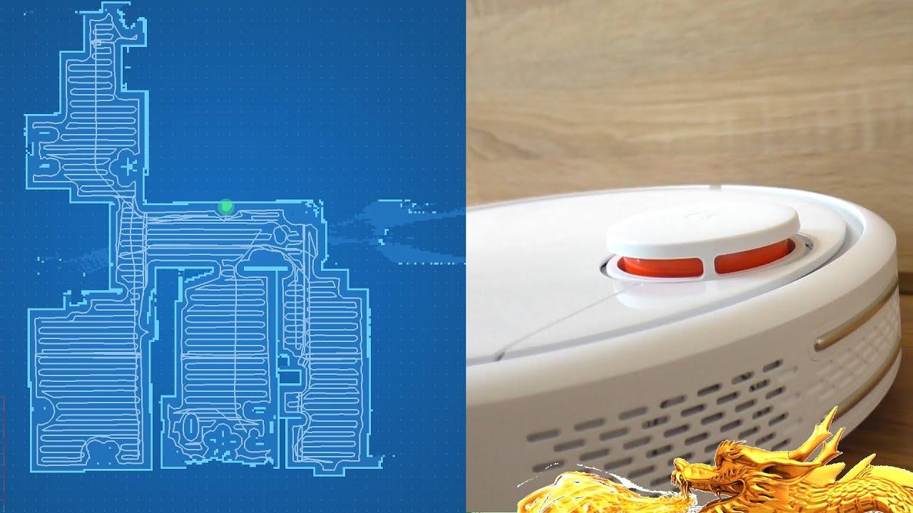 Xiaomi ROBOT СКАНИРУЕТ ПОМЕЩЕНИЕ МЕГА МОЩНЫЙ РОБОТ ПЫЛЕСОС С СУПЕР ТУРБИНОЙ
