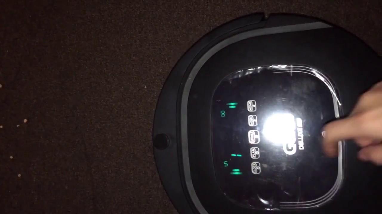 Робот-пылесос Genio Deluxe 370 на ковре