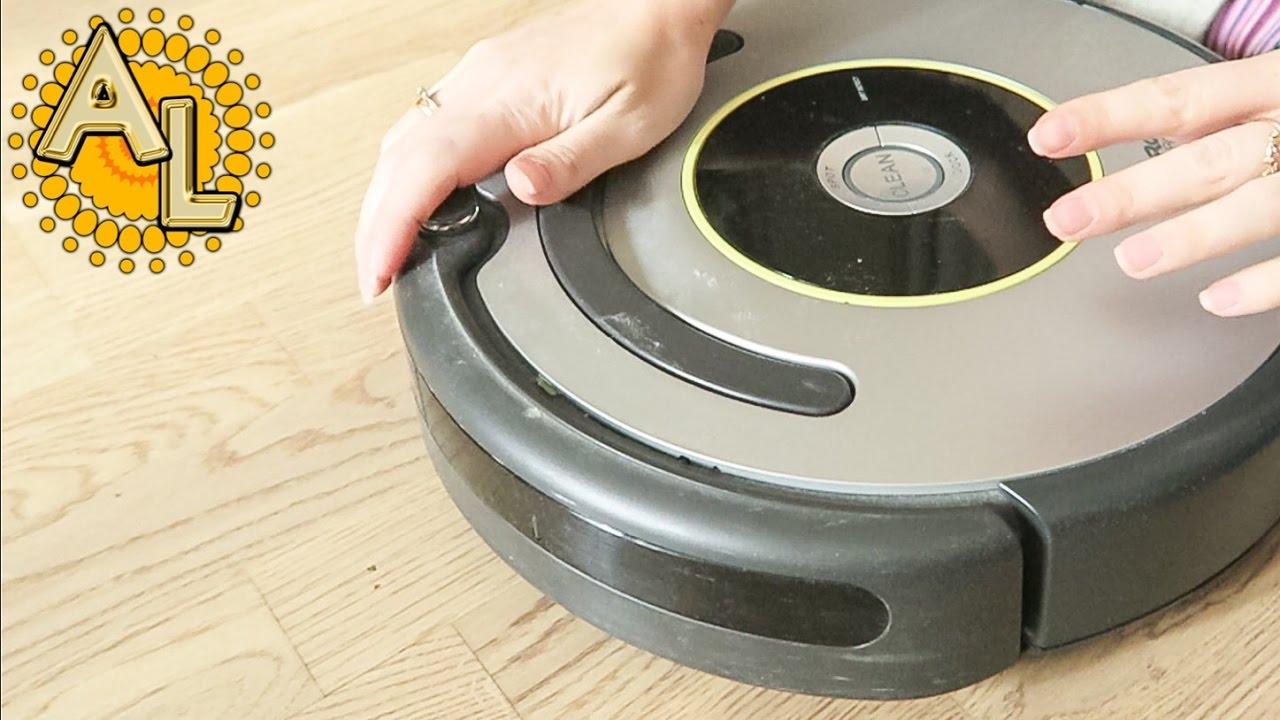 VLOG: Чистим робот-пылесос iRobot Roomba | Никакой день 15.11.2016