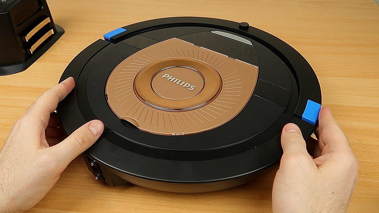 Мучаю новый робот пылесос Philips SmartPro FC8776