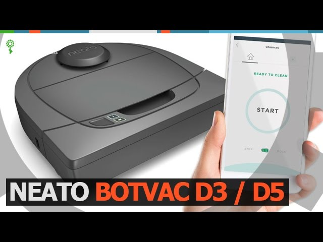 Neato Botvac D3 | D5 Connected Робот пылесос Robotics.ua