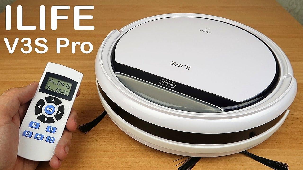 Робот пылесос ILIFE V3S Pro - Самый полный обзор и тесты