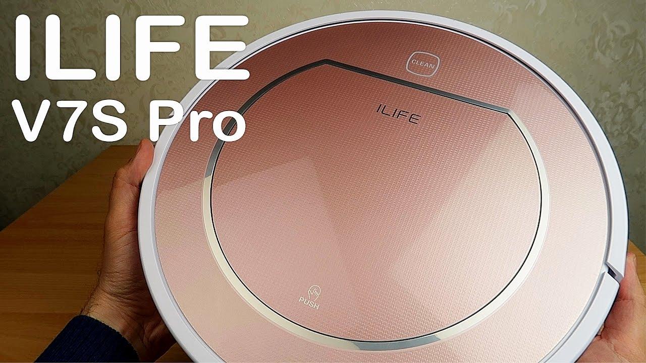 Робот пылесос ILIFE V7S Pro - большой и тихий Какой робот пылесос выбрать?