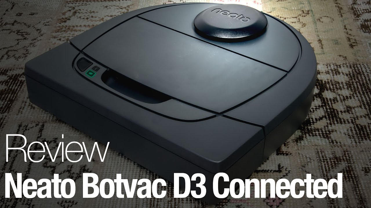Neato Botvac D3 Connected Robot Vacuum Review