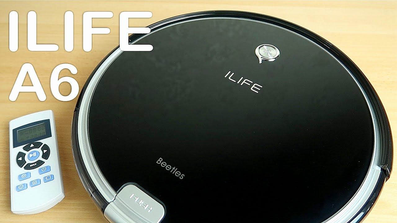 Робот пылесос ILIFE A6 с Алиэкспресс. Подробный обзор и тест