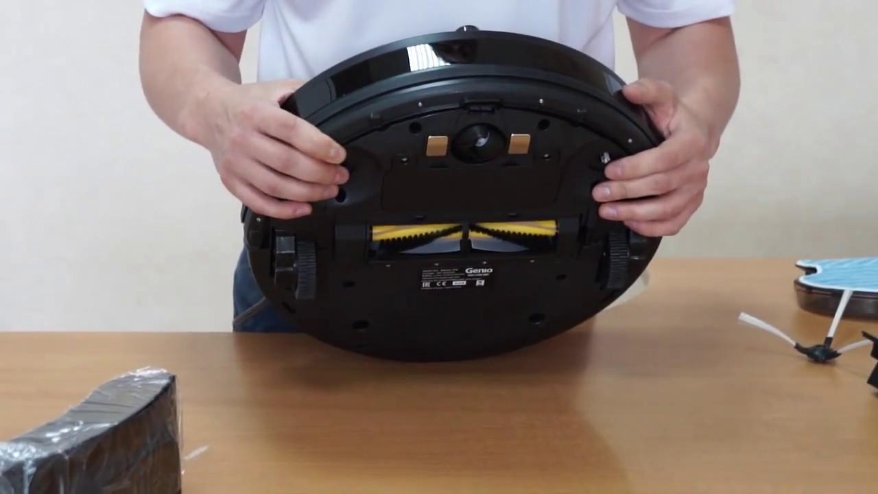 Видеообзор робота-пылесоса Genio Deluxe 370