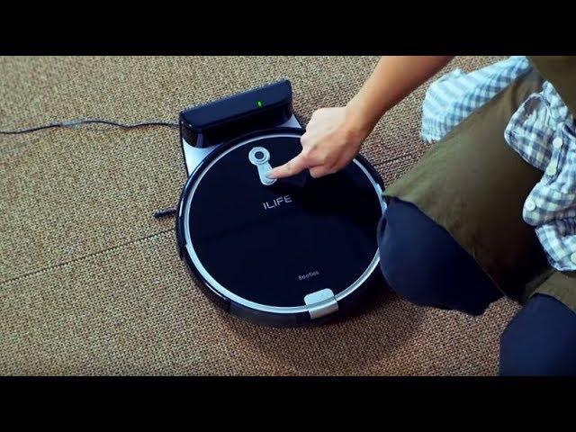 Обзор   недорогой робот-пылесос ILIFE A8