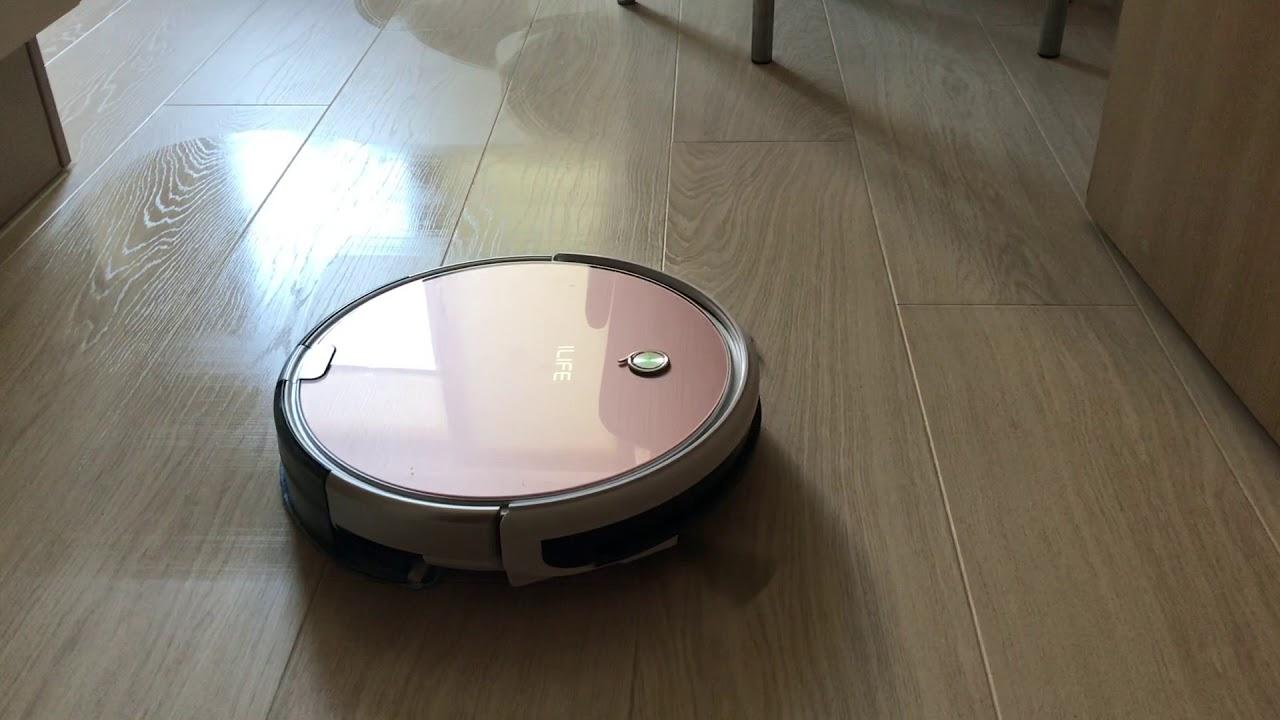 Моющий робот-пылесос ilife x620