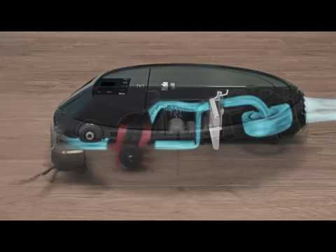 Cleaning performance of the Miele Scout RX2 robot vacuum