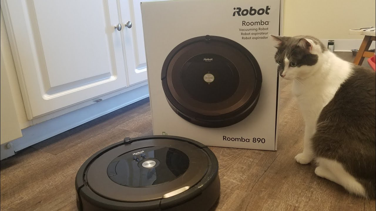 Робот пылесос Roomba 890 Vacuuming Robot Roomba 890