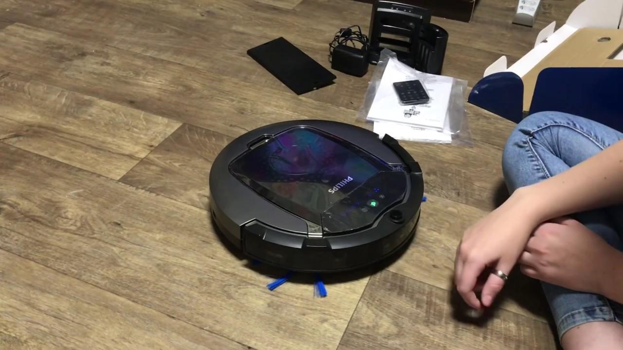 Тестирую робот-пылесос Philips FC882201