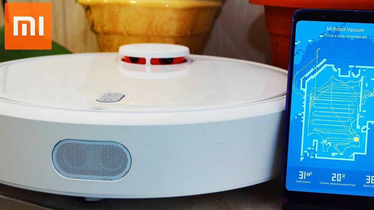 НАКОНЕЦ-ТО КУПИЛ Пылесос Xiaomi MI ROBOT Vacuum Cleaner. ОБЗОР