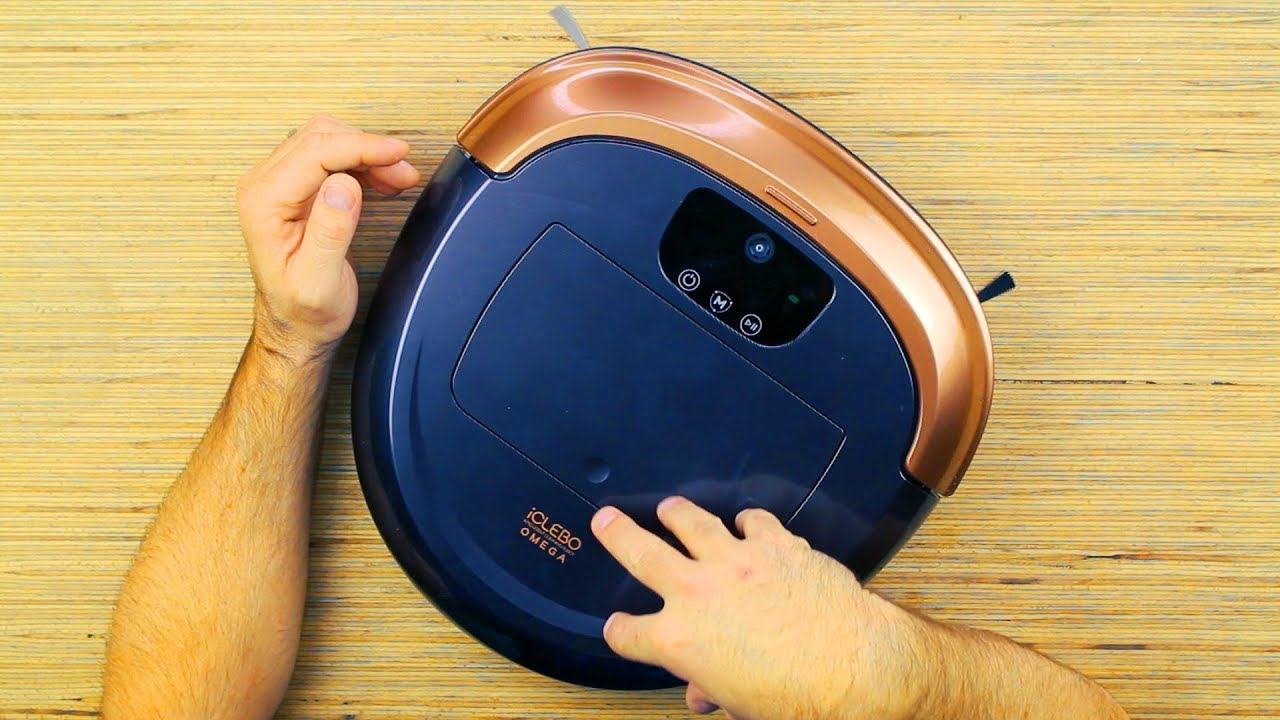 iClebo Omega Robot Vacuum. Unboxing and Review.