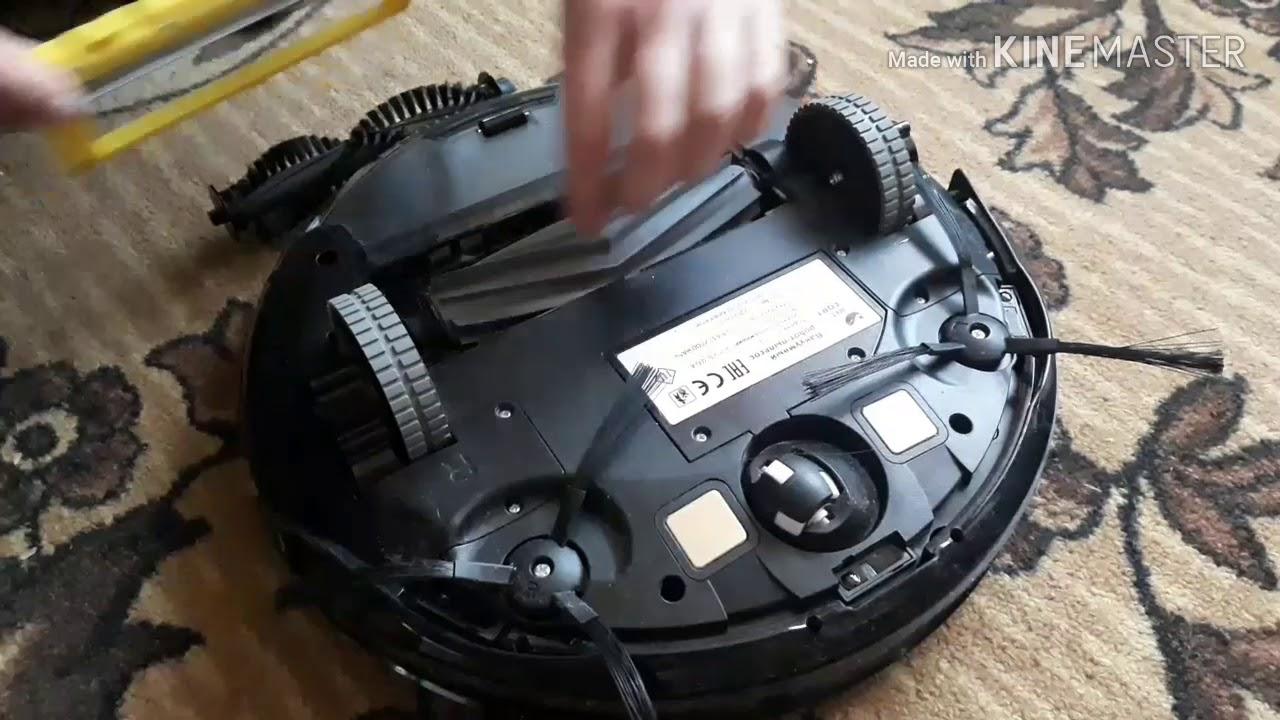 ИДЕАЛЬНАЯ УБОРКА Обзор вакуумного робота-пылесоса KITFORT-KT-533