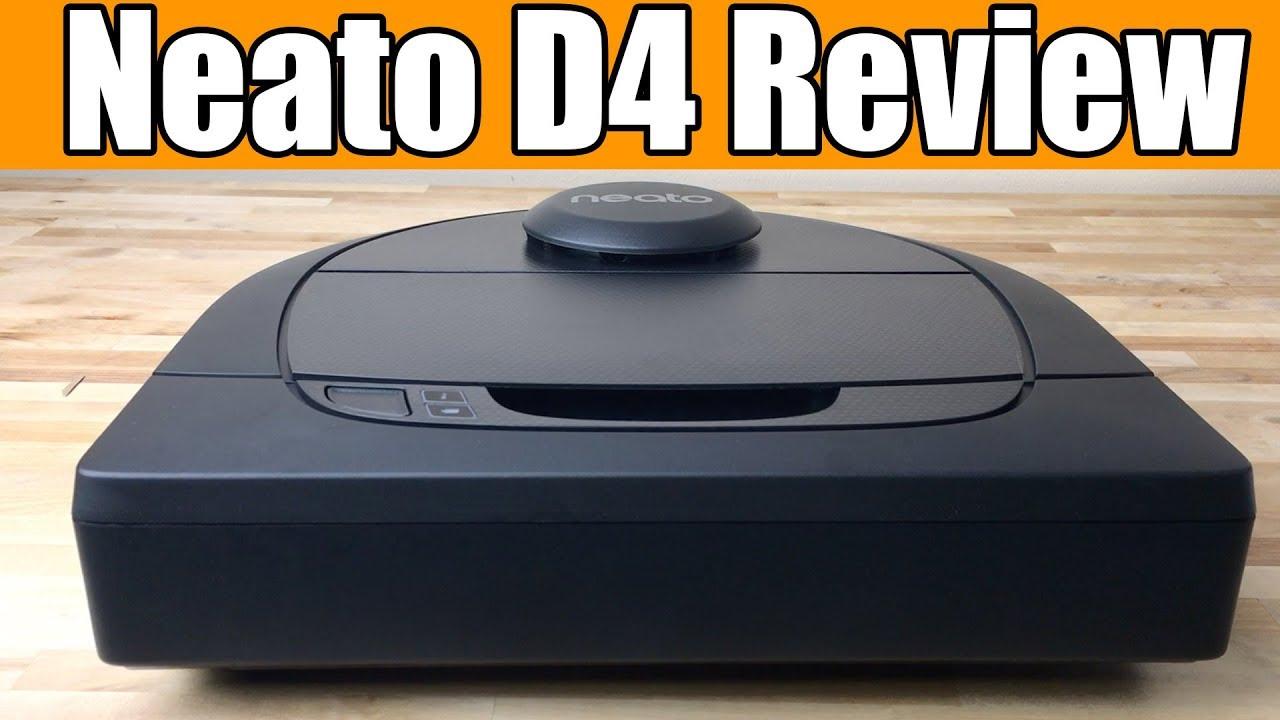 Neato Robotics D4 Robot Vacuum Review - In Depth Tests