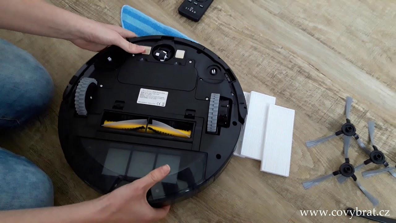 Symbo xBot 5 PRO - recenze robotického vysavače