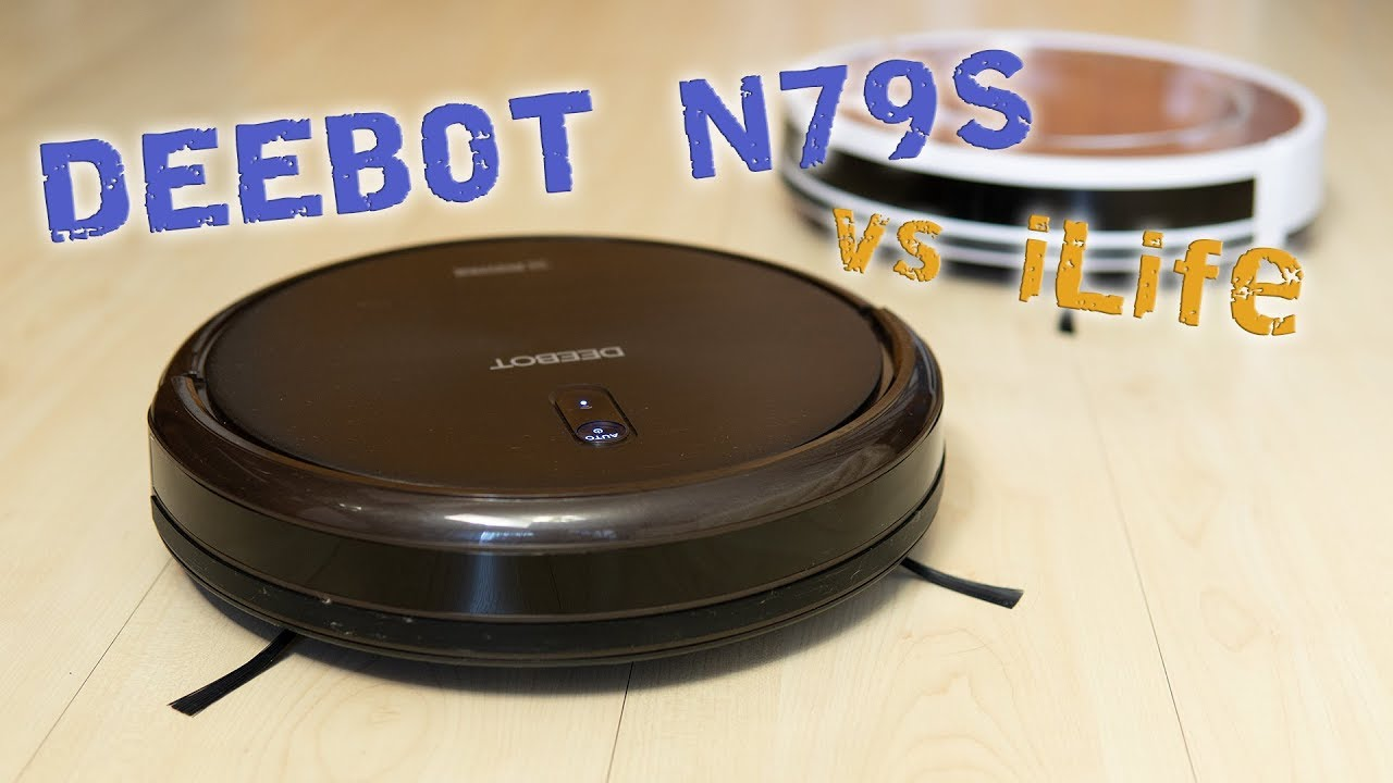 Робот-пылесос DEEBOT N79S, сравнение с iLife v7s Pro