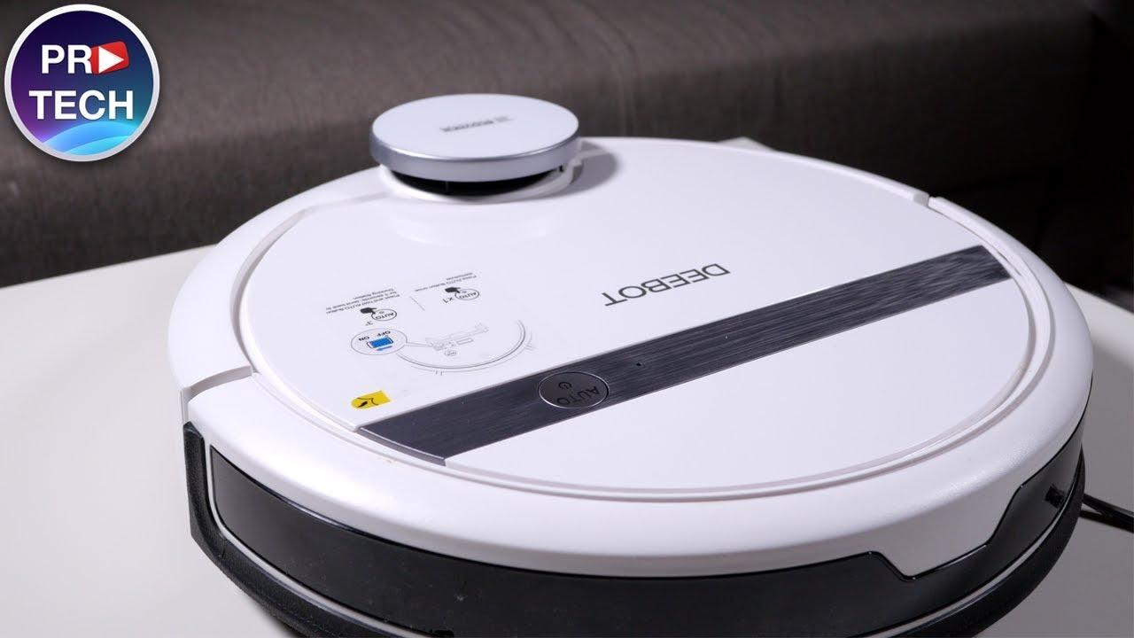 Качественный и недорогой моющий робот-пылесос - реально? Обзор Ecovacs Deebot DE55