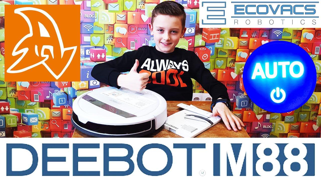 Робот-пылесос Deebot M88. Обзор. Опыт использования 1 год