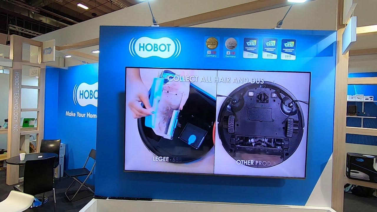 Робот пылесос HOBOT Legee 688 на выставке IFA 2019