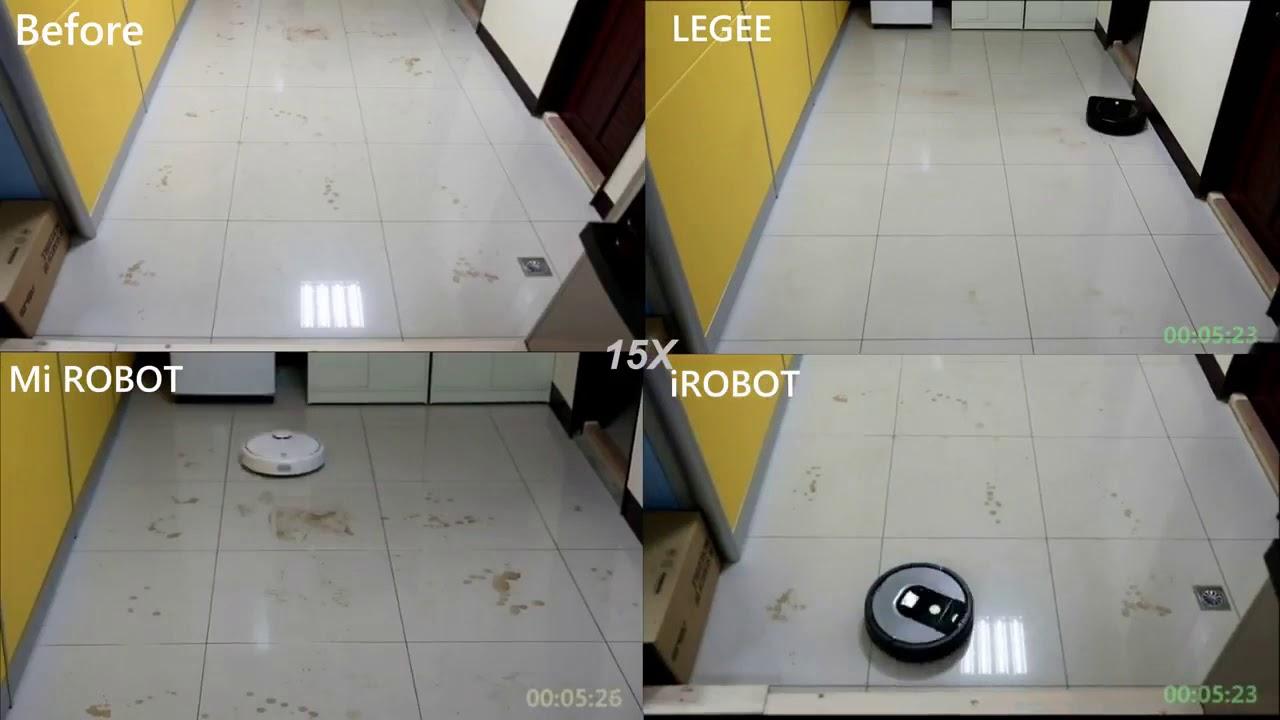 Сравнение робота Hobot Legee 668 и других производителей
