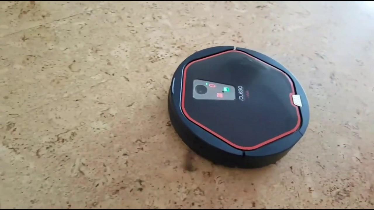 Робот-пылесос ICLEBO Arte обзор - цена - Купить онлайн