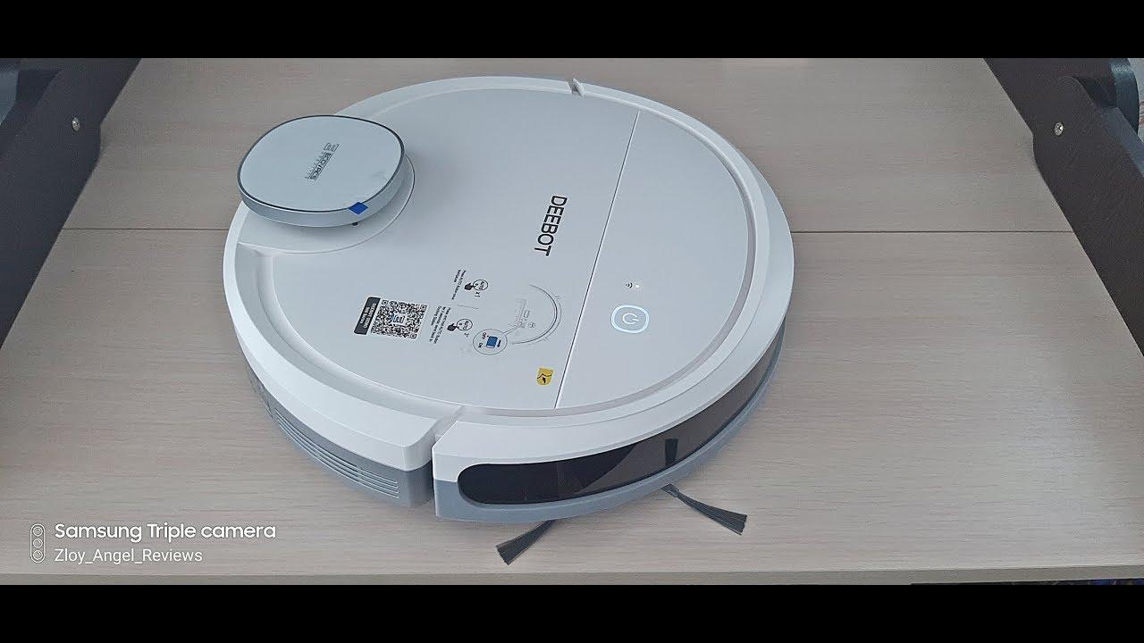 Робот пылесос с картографией Ecovacs Deebot Ozmo 902