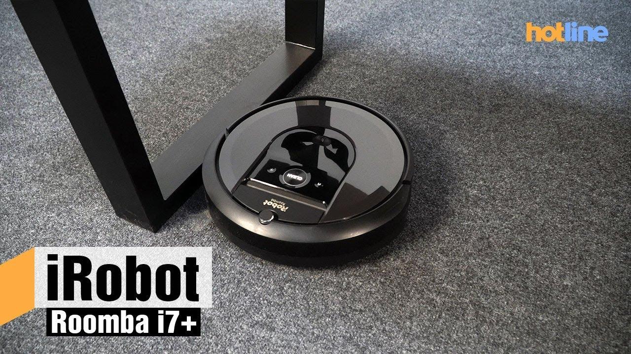 iRobot Roomba i7+ — уборка стала еще проще