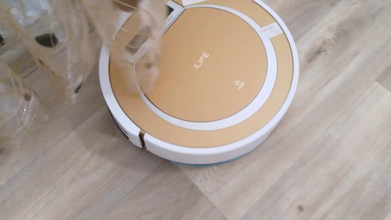 Робот-пылесос ILIFE V55. Опыт использования