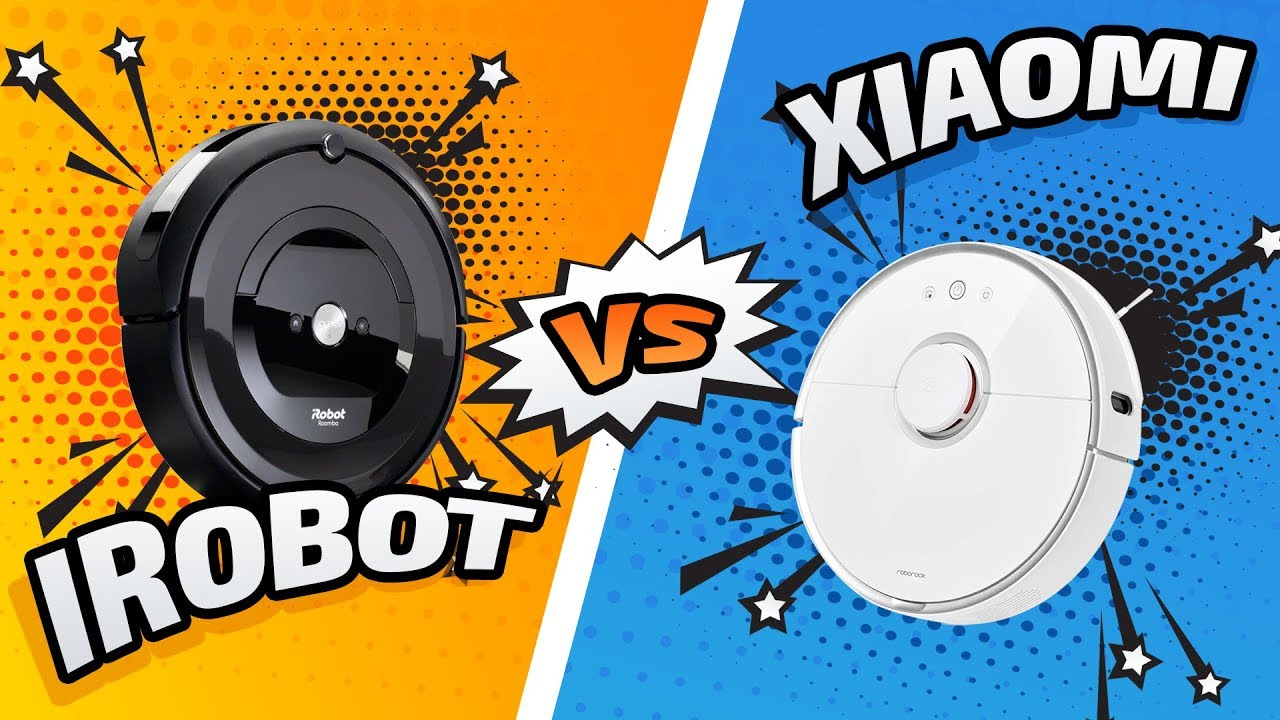 КАКОЙ РОБОТ-ПЫЛЕСОС ЛУЧШЕ? Тесты и сравнение iRobot Roomba e5 vs Xiaomi RoboRock