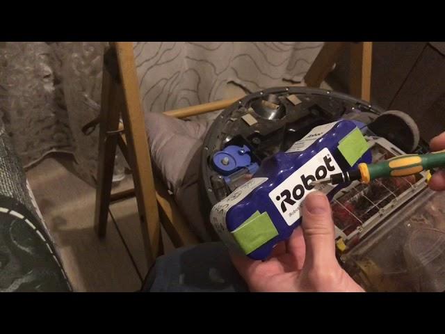 Ремонт пылесоса irobot roomba серии 700 500,600