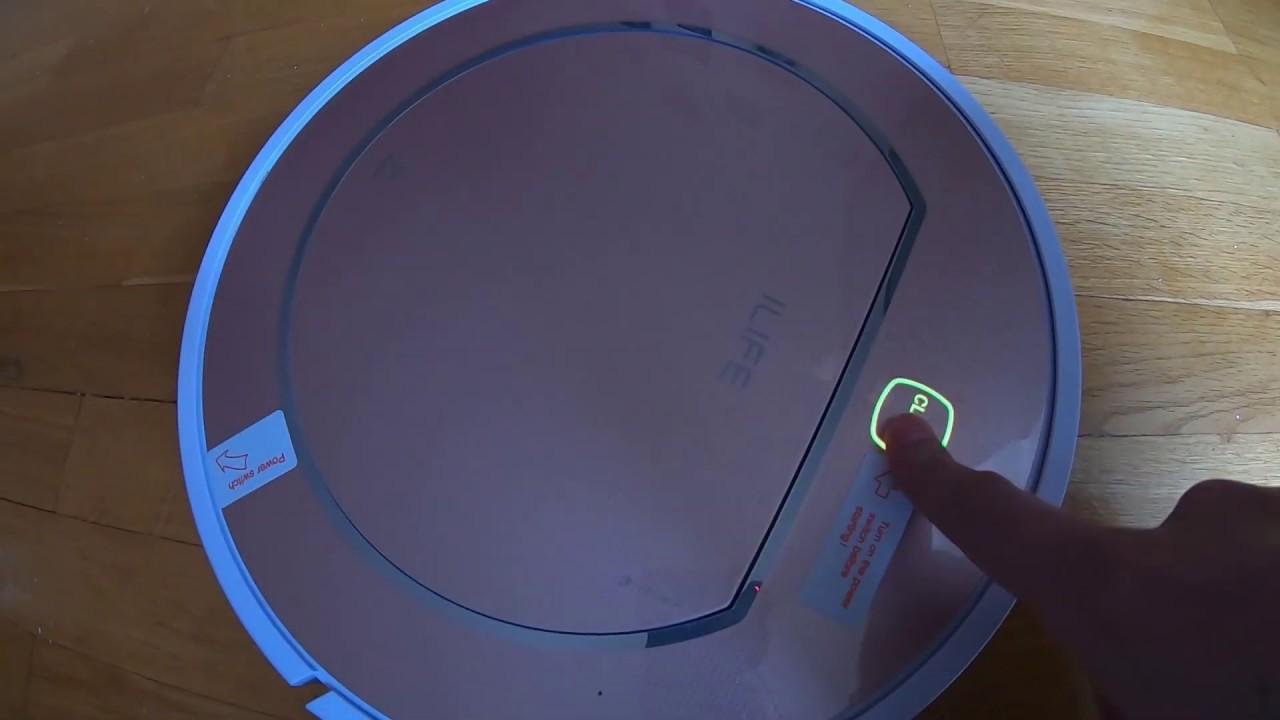 ILIFE V7s Plus робот пылесос robot-cleaner red Alarm decisionпроблемы с красным индикатором
