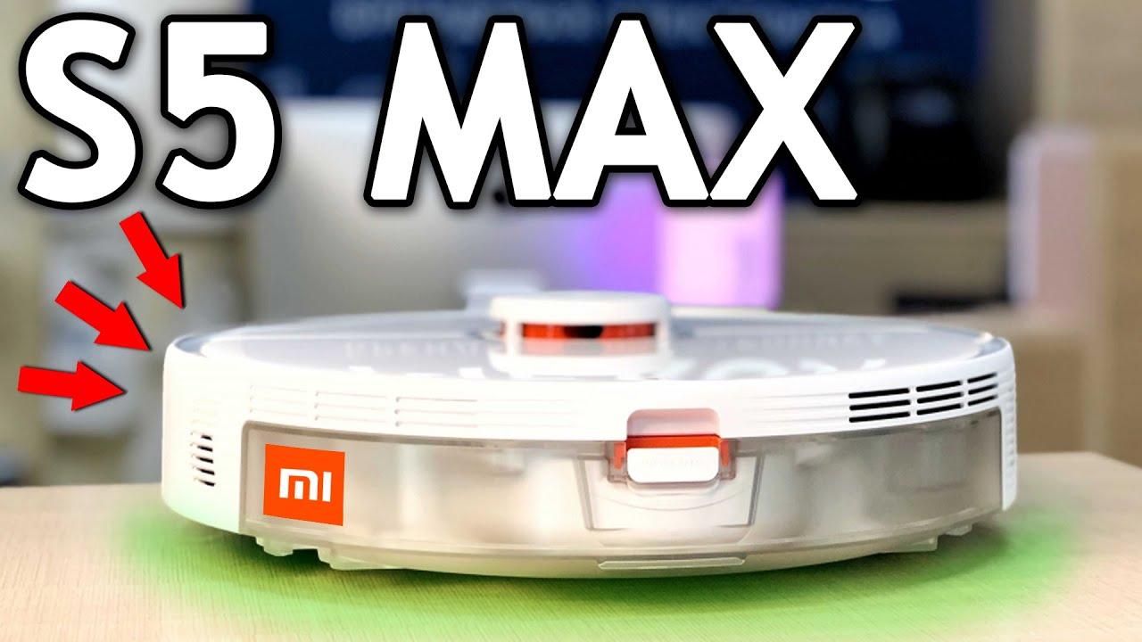 МАЛО КТО ЗНАЕТ что ещё может РОБОТ-ПЫЛЕСОС Xiaomi RoboRock S5 MAX + РУССКАЯ озвучка за 2 МИНУТЫ