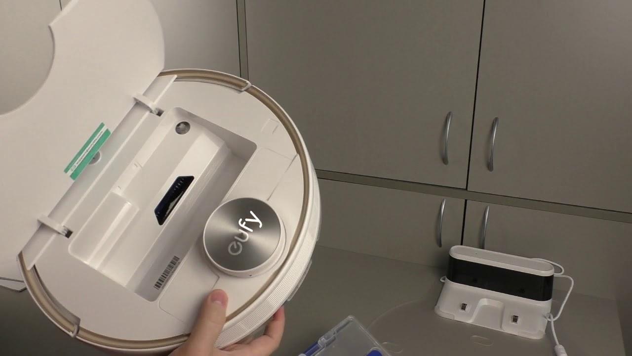 Моющий робот-пылесос Eufy RoboVac L70 Hybrid
