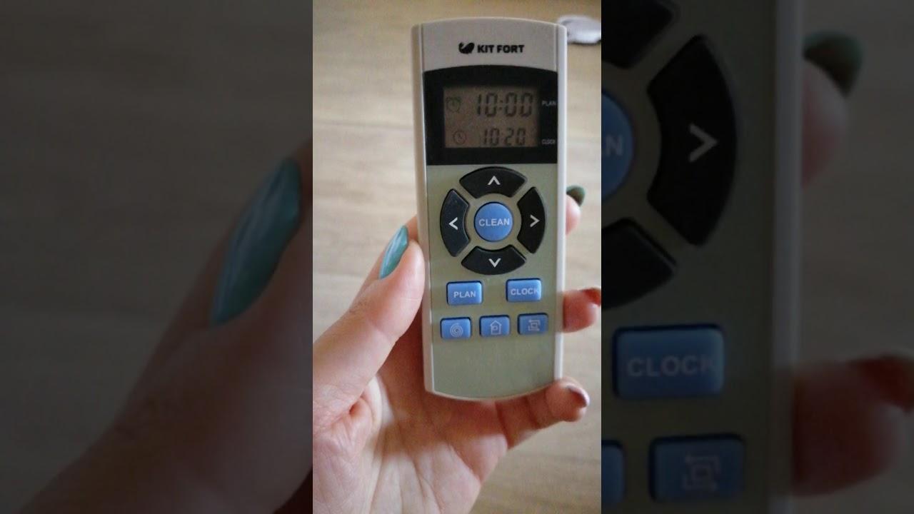Видео обзор робота-пылесоса Kitfort - 518