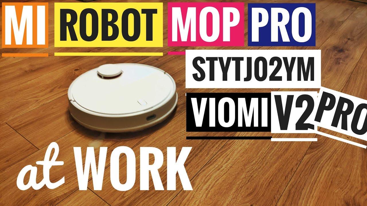 Mi Robot Vacuum Mop P STYTJ02YM aka Viomi V2 PRO at Work