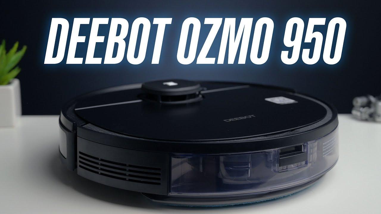 Deebot Ozmo 950 — очень умный робот