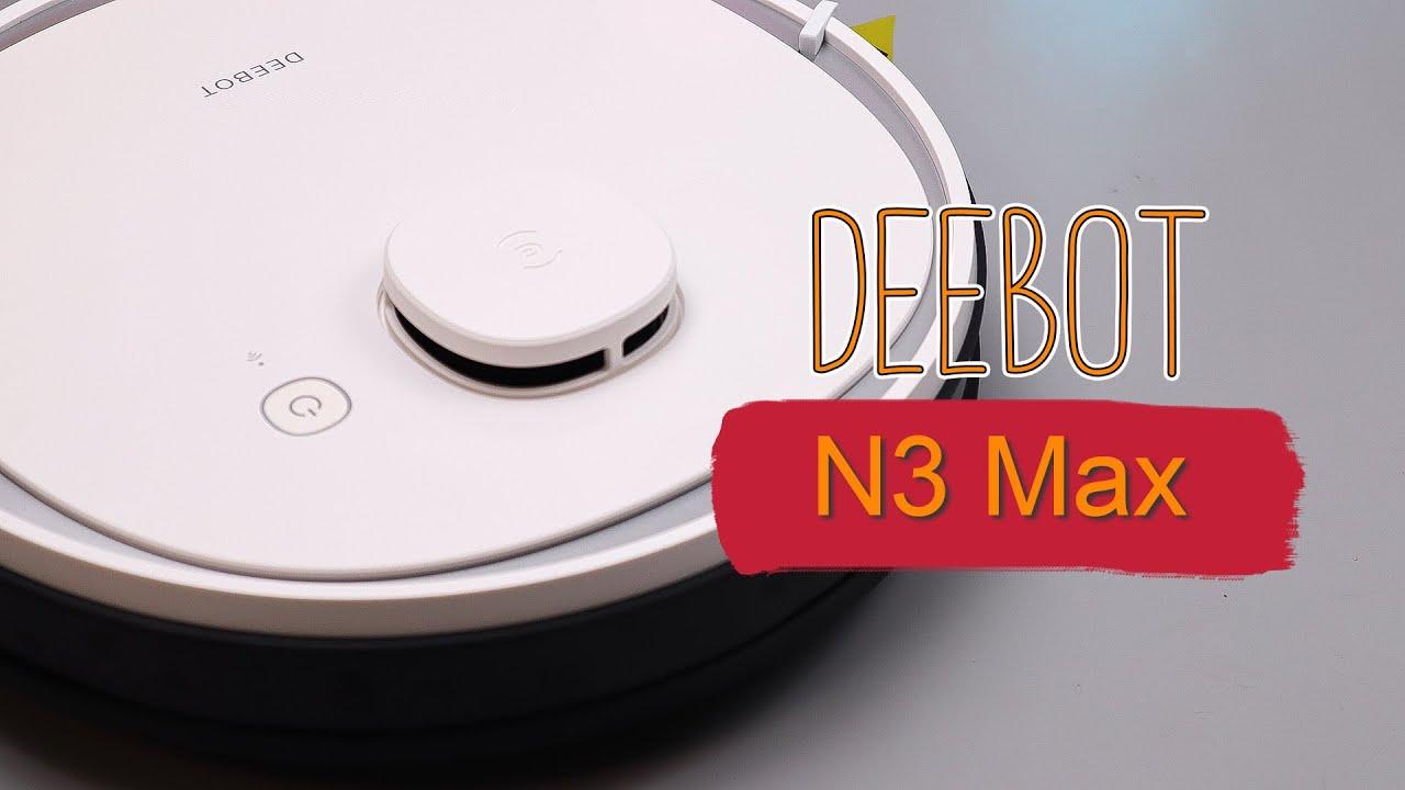 ECOVACS Deebot N3 Max - НОВИНКА 2020 от конкурентов XIAOMI